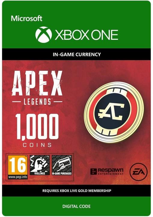 Apex Legends - 1000 Coins (Xbox ONE) - elektronicky
