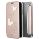 Guess Studs and Sparkle Book Pouzdro Rose Gold pro iPhone X
