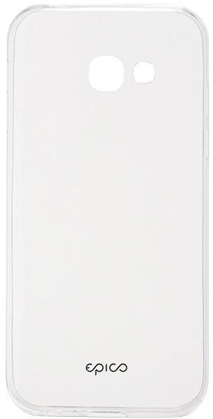 EPICO plastový kryt pro Samsung Galaxy A3 (2017) RONNY GLOSS - bílý transparentní