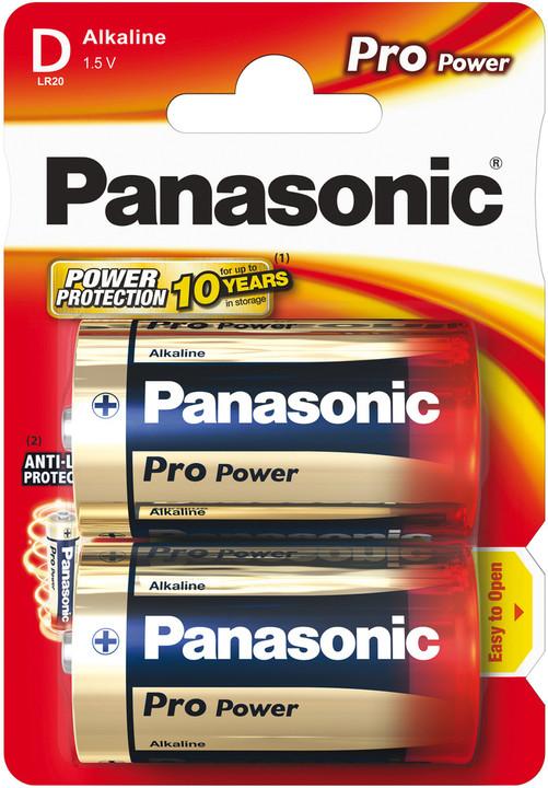 Panasonic baterie LR20 2BP D Pro Power alk