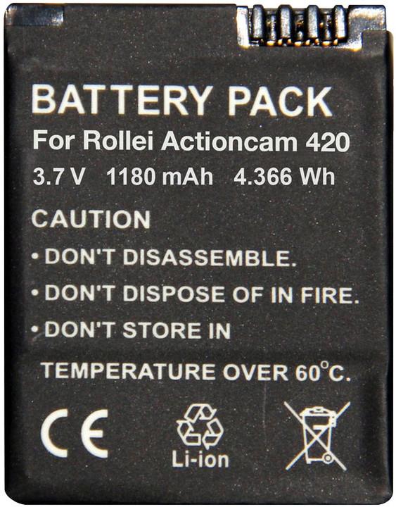 Rollei náhradní baterie pro kamery AC 420 Wi-Fi