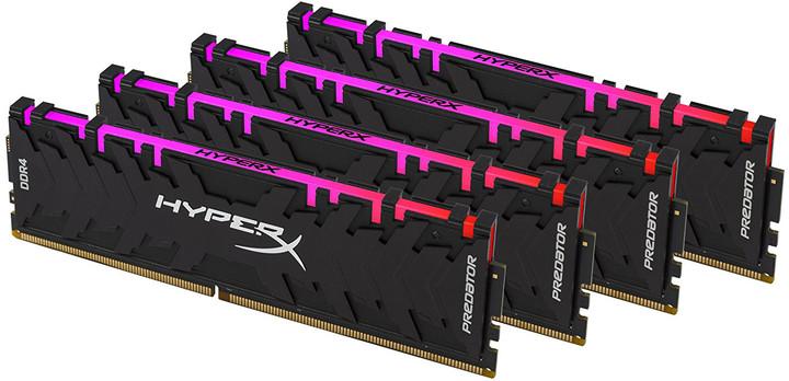 HyperX Predator RGB 32GB (4x8GB) DDR4 3200 CL16