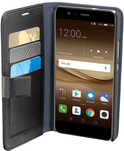 CellularLine Book Agenda pouzdro typu kniha pro Huawei P10 Lite, černá