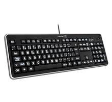 CONNECT IT LED bíle podsvícená klávesnice, USB - CI-71