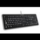 CONNECT IT LED bíle podsvícená klávesnice, USB  + Voucher až na 3 měsíce HBO GO jako dárek (max 1 ks na objednávku)