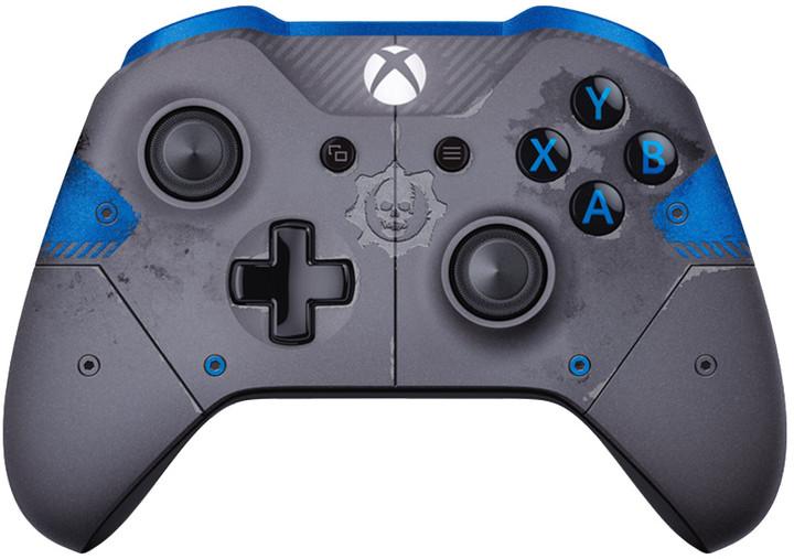 Xbox ONE S Bezdrátový ovladač, Gears of War, šedý (PC, Xbox ONE)
