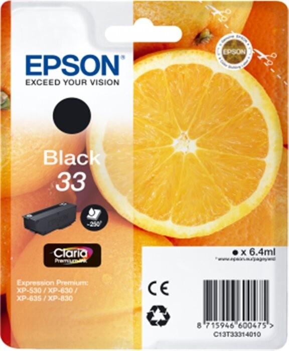 Epson C13T33314010, černá