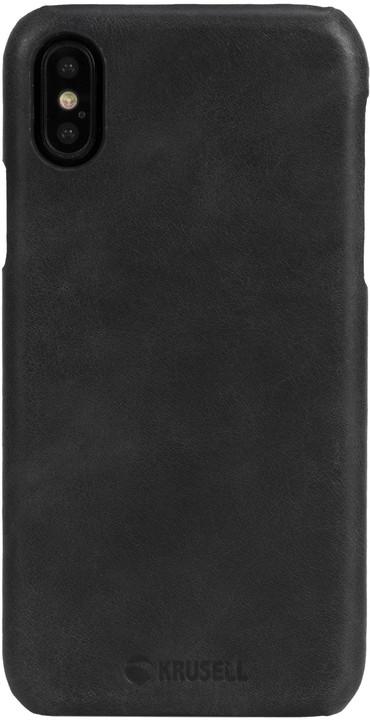 Krusell zadní kryt SUNNE pro Apple iPhone X, černá