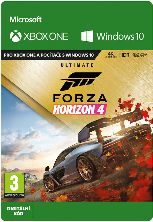 Forza Horizon 4 - Ultimate Edition (Xbox Play Anywhere) - elektronicky