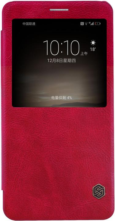 Nillkin Qin S-View Pouzdro Red pro Huawei Mate 9