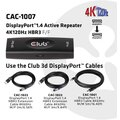 Club-3D DisplayPort™1.4 Active Repeater 4K120Hz HBR3 F/F