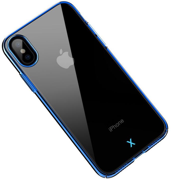 Mcdodo zadní kryt pro Apple iPhone X/XS, modrá