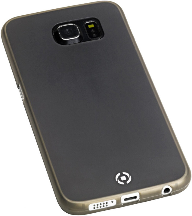 CELLY Frost pouzdro pro Samsung Galaxy S6 Edge Plus, 0,29 mm, černé
