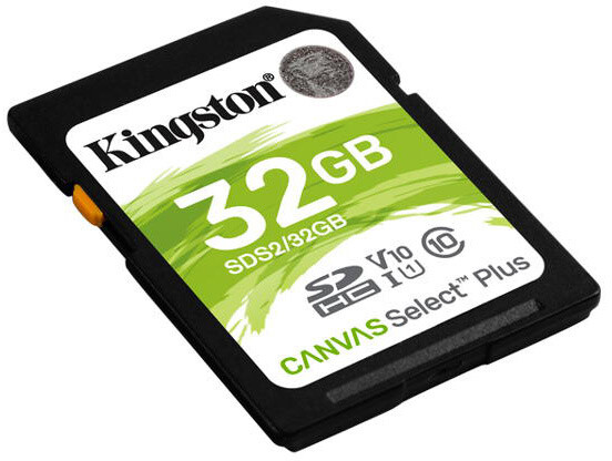 Kingston SDHC Canvas Select Plus 32GB 100MB/s UHS-I
