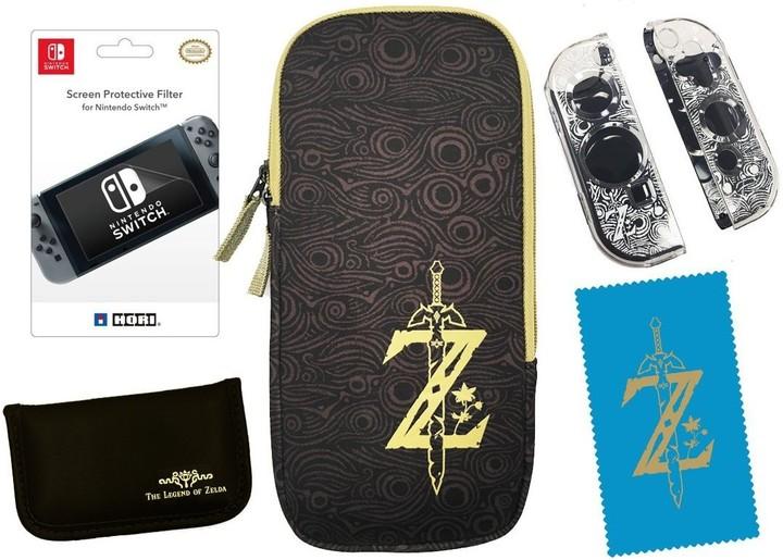 Hori Zelda Breath of the Wild Starter Kit (SWITCH)