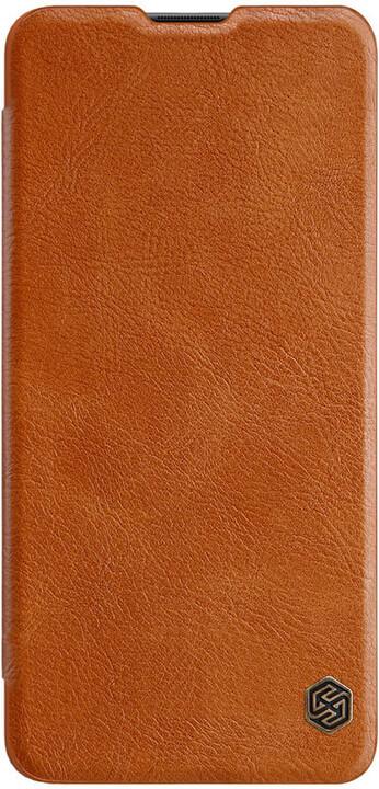 Nillkin pouzdro Qin Book pro Samsung Galaxy A41, hnědá
