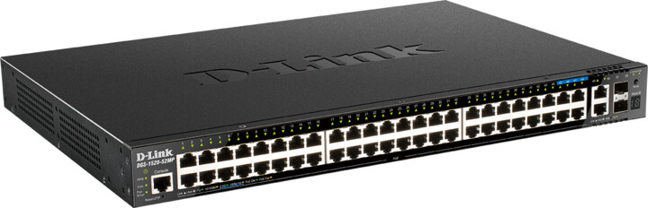 D-Link DGS-1520-52MP, NBD