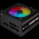Corsair CX550F RGB - 550W, černá