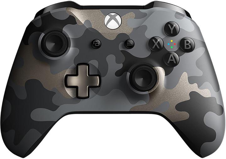 Xbox ONE S Bezdrátový ovladač, Dark Ops Camo (PC, Xbox ONE)