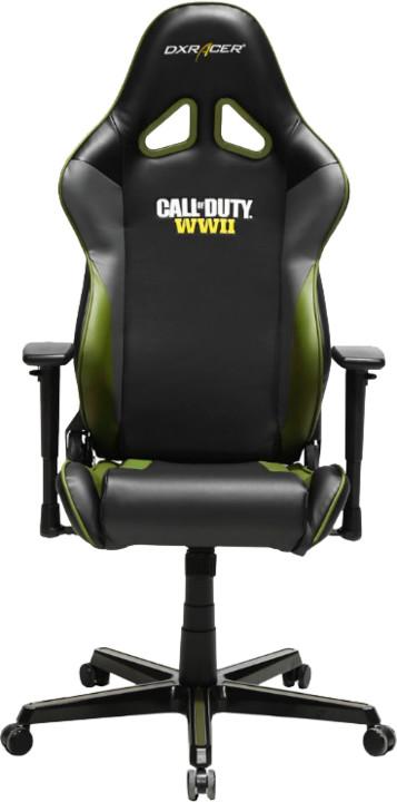 DXRacer Racing OH/RZ52/NGE, Call of Duty Edition, černá/šedá/zelená