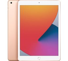 "Apple iPad 2020, 10,2"", 128GB, Wi-Fi, Gold Kuki TV na 2 měsíce zdarma"