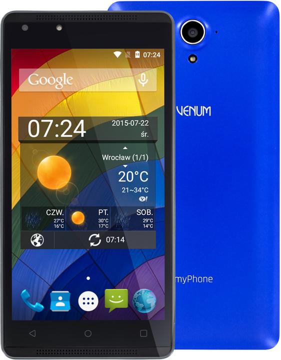 myPhone VENUM, modrá