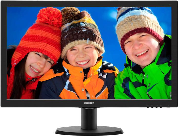 "Philips 243V5LHSB FHD - LED monitor 24"""