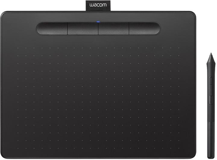 Wacom Intuos M Bluetooth, černá