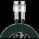 BASEUS kabel Cafule USB-C - USB-C, nabíjecí, datový, 100W, 2m, zelená