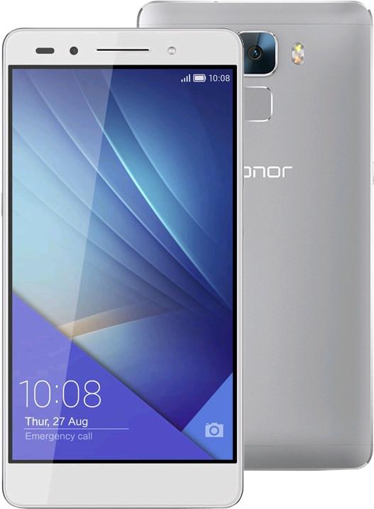 Honor 7, stříbrná