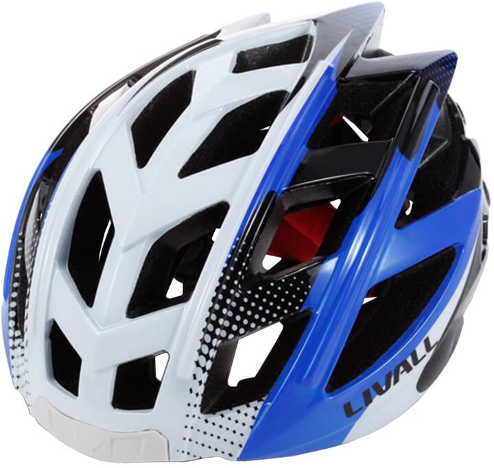 LIVALL BH60 chytrá cyklistická přilba, M-XL bílo-modrá