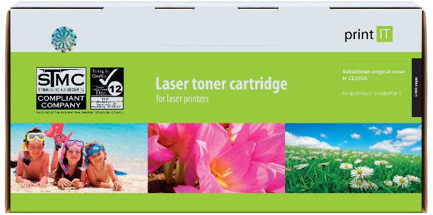 PRINT IT alternativní HP CE255A LJ P3015