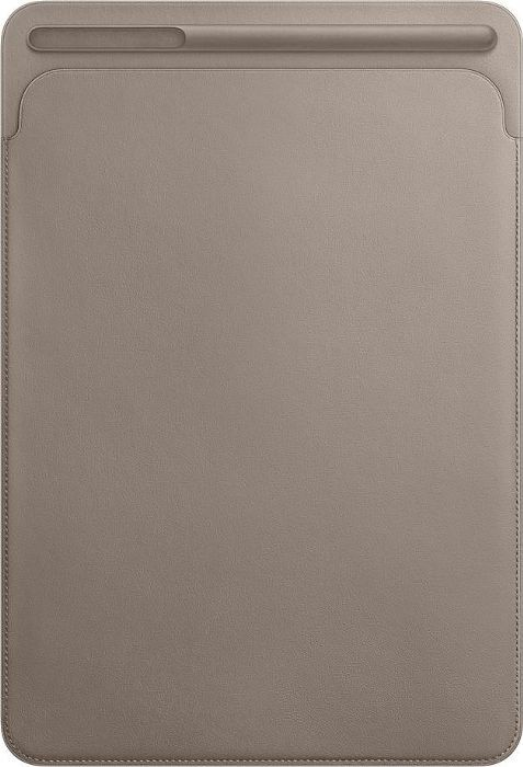 """Apple iPad Pro 10,5"""" Leather Sleeve, taupe"""