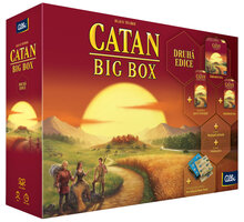 Desková hra Albi Catan: Osadníci z Katanu - Big Box, 2.edice (CZ) - 36550
