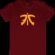 Tričko Fnatic Ess Logo, červené (L)
