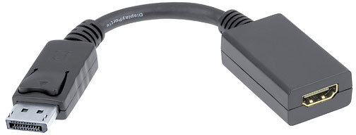 PremiumCord adaptér DisplayPort - HDMI (Male/Female), 15cm