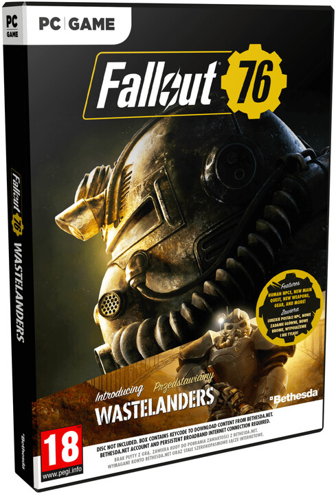 Fallout 76 Wastelanders (PC)