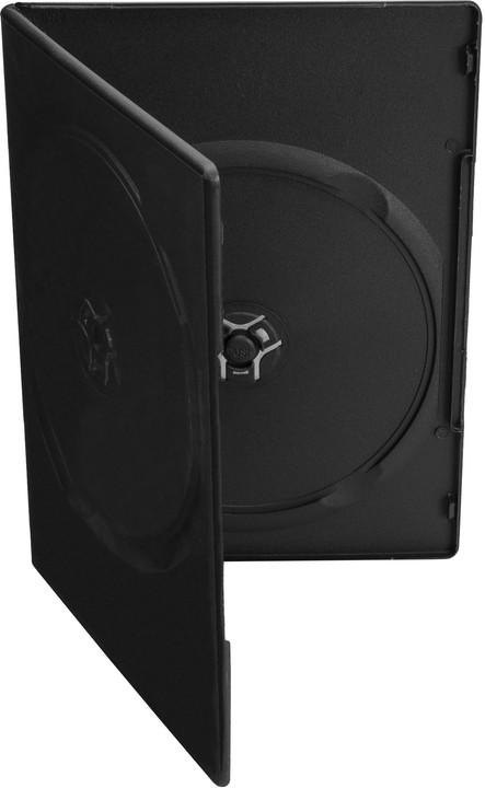 Cover It 2 DVD 7mm slim černý 10ks/bal