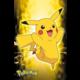 Plakát Pokémon - Pikachu Neon