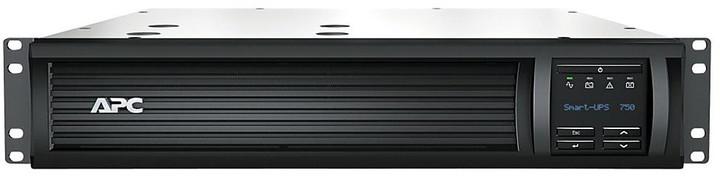 APC Smart-UPS 750VA LCD RM 2U 230V (500W) se SmartConnect