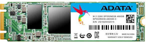 ADATA SP550 (M.2) - 480GB