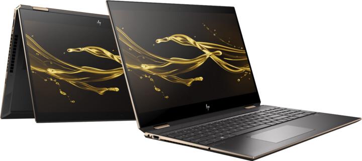 HP Spectre x360 15-df0102nc, černá