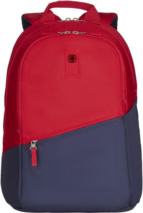 """WENGER CRISTO - 17"""" batoh na notebook, červený/navy"""