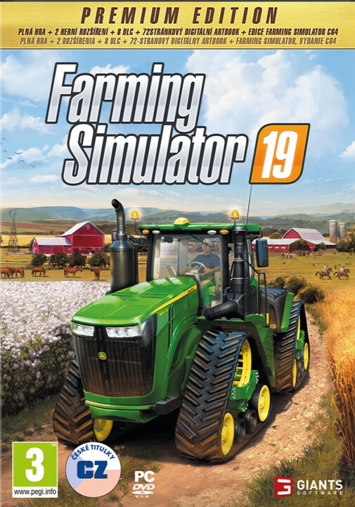 Farming Simulator 19 - Premium Edition (PC)