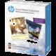 HP samolepící fotopapír, 25 listů, 10x13 cm, 265g/m