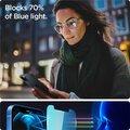 Spigen ochranné sklo tR EZ Fit pro iPhone 12/12 Pro, AntiBlue, 2ks, čirá