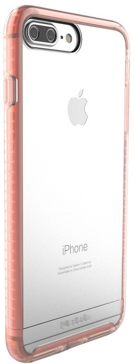 Mcdodo iPhone 7 Plus/8 Plus PC + TPU Transparent Case Patented Product, Pink