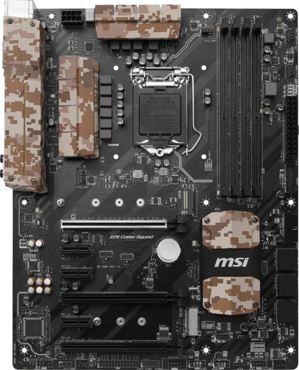MSI Z270 CAMO SQUAD - Intel Z270