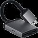 Satechi TYPE-C Dual HDMI Adapter, šedá