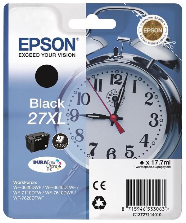 Epson C13T27114010, černá